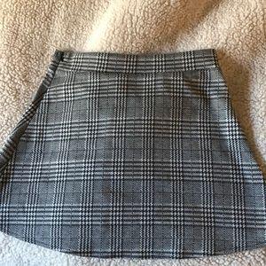 NWOT Brandy Melville Plaid Skirt